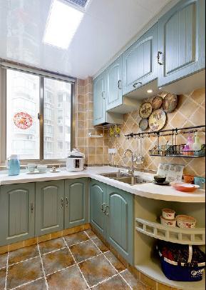 简约 四居室 地中海 白领 成都装修 宅天下 成都设计 厨房图片来自乐粉_20170523094252350在地中海四居:文化名园的分享