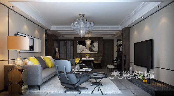 正商书香华府175平四室两厅港式风格经典舒适:客餐厅