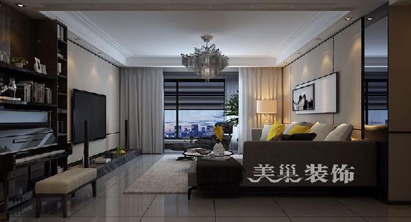 正商书香华府175平四室两厅港式风格经典舒适:客厅