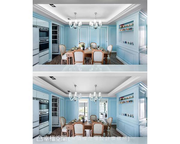 两房增加至三房,是客变时即开始的需求委托,调整隔间同时,也将格局修饰做了一并性规画。