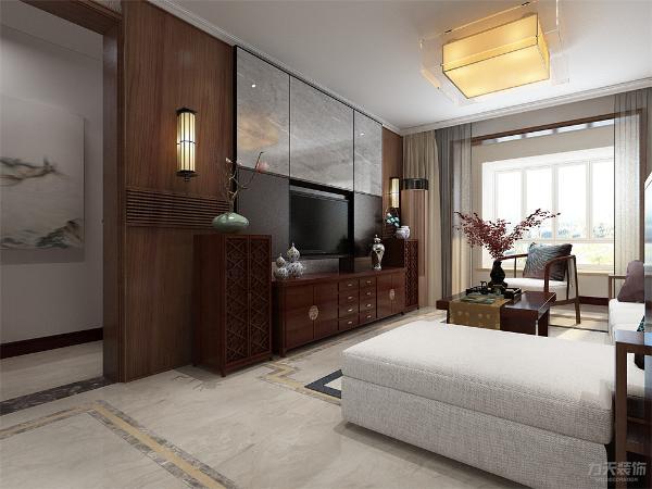 室内设计中风格搭配都尤为重要,新中式装修比较注重古典古香的基调、家具与装饰的搭 配。家中的古旧的老家具要善加利用,红木的家具、太师椅、有雕饰的装饰品以及灯光等等都可以增添新中式的原汁原味。