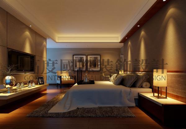 中式装修卧室庄重典雅不乏轻松浪漫,时尚而不浮躁,以简单的陈设,营造韵味无穷的休息空间。