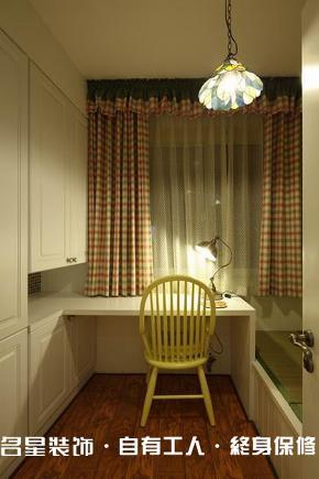 旧房改造 loft 地中海 书房图片来自名星装饰在凯乐花园样板房的分享
