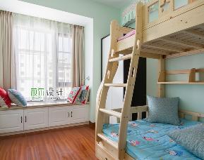 简约 三居 白领 收纳 80后 小资 儿童房图片来自萩尔空间设计在小酒窝的分享