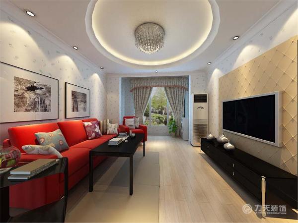 客厅采用简约的圆顶造型,书房和餐厅采用一个大回型顶的造型。方圆之间显示着简约而不简单。再到小饰品的点缀,都很好的体现出了整个空间的装修特点,赋予其浓厚的简约主义色彩,整个空间让人感觉十分温馨,惬意。