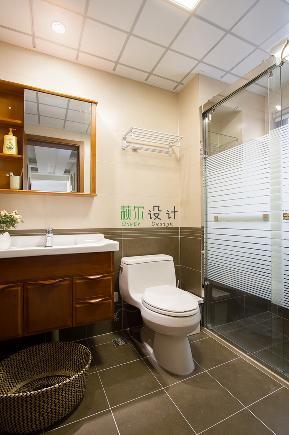 简约 三居 白领 收纳 80后 小资 卫生间图片来自萩尔空间设计在小酒窝的分享