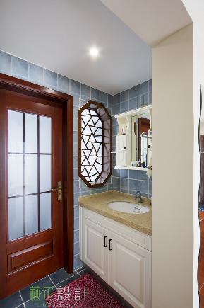 简约 收纳 小资 三居 白领 卫生间图片来自萩尔空间设计在湖畔府邸的分享