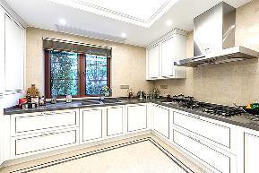 欧式 别墅 小资 收纳 厨房图片来自中博装饰在大奇山郡400方欧式古典风格的分享