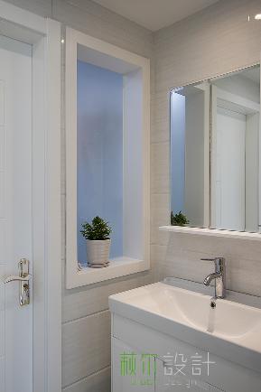 简约 白领 收纳 小资 卫生间图片来自萩尔空间设计在兰香缘的分享