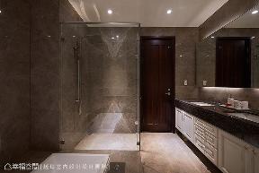 四居 大户型 新古典 卫生间图片来自幸福空间在施展空间魔法 拆一墙让家更完美的分享