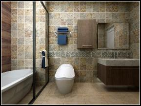 复式装修 美式风格 天山熙湖 新房装修 装修效果图 卫生间图片来自石家庄实创装饰公司在你是否憧憬过这样的复式住宅装修的分享