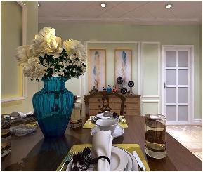 复式装修 美式风格 天山熙湖 新房装修 装修效果图 餐厅图片来自石家庄实创装饰公司在你是否憧憬过这样的复式住宅装修的分享