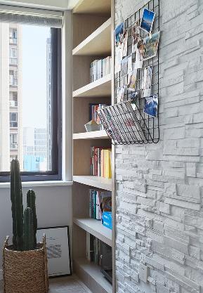 书房图片来自家装大管家在简洁清爽 109平北欧时尚舒适3居的分享