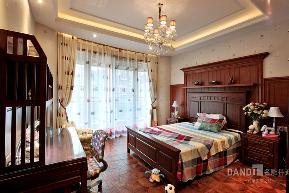 别墅 欧式 混搭 卧室图片来自名雕丹迪在天御山-美式风格的分享
