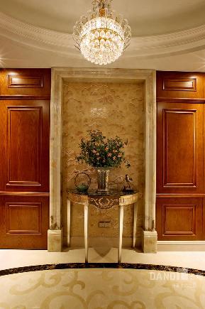 别墅 欧式 混搭 玄关图片来自名雕丹迪在天御山-美式风格的分享