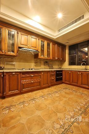 别墅 欧式 混搭 厨房图片来自名雕丹迪在天御山-美式风格的分享