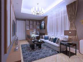 简约 现代 二居 收纳 小资 客厅图片来自阳光力天装饰在力天装饰-宜君里-64㎡-现代的分享