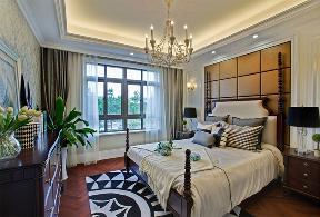 欧式 别墅 卧室图片来自设计师小郭在290㎡欧式风格别墅设计的分享