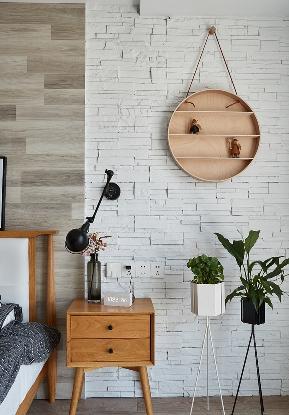 卧室图片来自家装大管家在简洁清爽 109平北欧时尚舒适3居的分享
