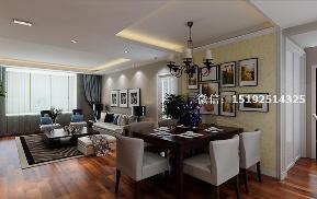 三居 实创 玫瑰兰庭 简欧 餐厅图片来自实创装饰小彩在玫瑰兰庭118平三居室的简欧设计的分享