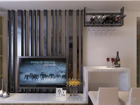 简约 现代 二居 收纳 小资 客厅图片来自阳光力天装饰在力天装饰-半岛半湾-82㎡-现代的分享