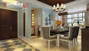 天泰玉泽园 餐厅图片来自太原城市人家原卯午在天泰玉泽园140平米现代简约设计的分享