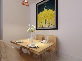 简约 现代 二居 收纳 小资 餐厅图片来自阳光力天装饰在力天装饰-半岛半湾-82㎡-现代的分享