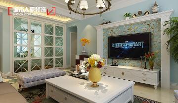 天泰玉泽园140平米现代简约设计