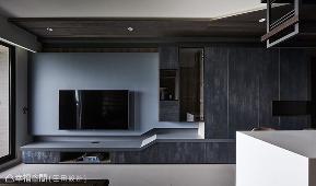 三居 工业风 小户型 客厅图片来自幸福空间在调制美式轻工业 50平个性风居宅的分享