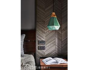 三居 工业风 小户型 卧室图片来自幸福空间在调制美式轻工业 50平个性风居宅的分享
