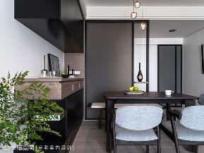 二居 现代 餐厅图片来自幸福空间在83平明净纯粹 宅在家最舒服的分享