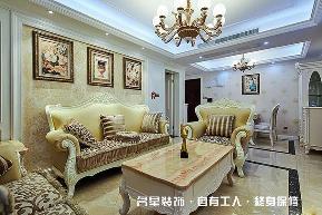 欧式 二居 客厅图片来自名星装饰在百步亭现代城样板房的分享