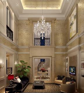 玄关图片来自天津生活家健康整体家装在桃园别墅-别墅装修案例效果的分享