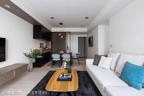 二居 现代 客厅图片来自幸福空间在83平明净纯粹 宅在家最舒服的分享