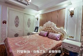 欧式 二居 卧室图片来自名星装饰在百步亭现代城样板房的分享