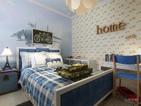 简约 现代 二居 收纳 小资 卧室图片来自阳光力天装饰在力天装饰-半岛半湾-82㎡-现代的分享