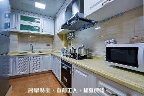 欧式 二居 厨房图片来自名星装饰在百步亭现代城样板房的分享
