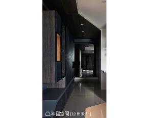 三居 工业风 小户型 玄关图片来自幸福空间在调制美式轻工业 50平个性风居宅的分享