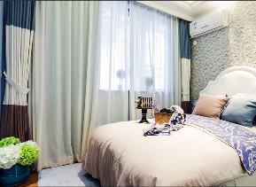 简约 田园 二居 白领 80后 小资 卧室图片来自乐粉_20170523094252350在89平米地中海风格样板房的分享