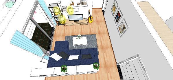 3D府视图客厅