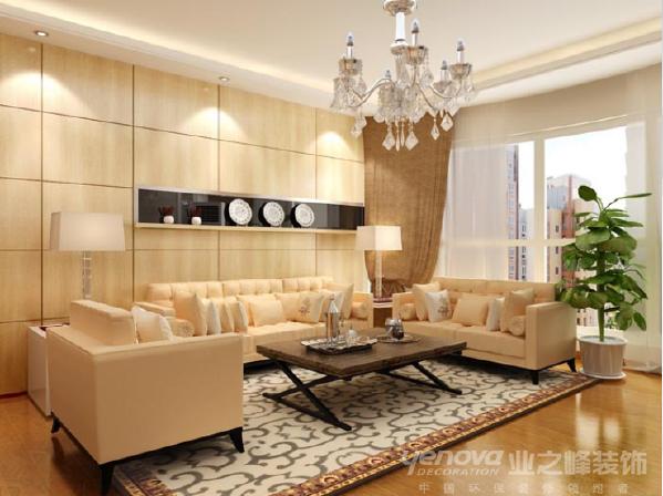 丽华海景苑160平米现代简约风格设计装修效果图——太原业之峰