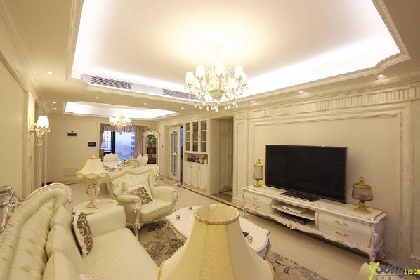 【深圳漾空间设计有限公司】漾设计Young Design——客厅电视背景区域