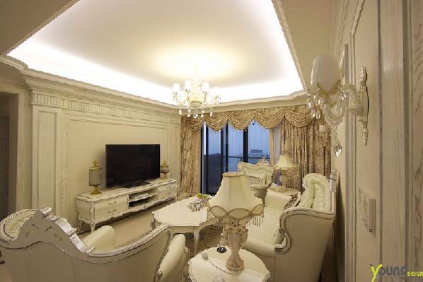 【深圳漾空间设计有限公司】漾设计Young Design——客厅电视背景
