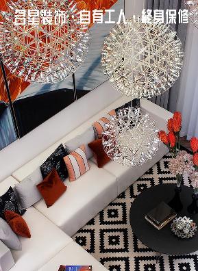 三居 港式 客厅图片来自名星装饰在武汉天街的分享
