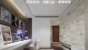 三居 港式 书房图片来自名星装饰在武汉天街的分享