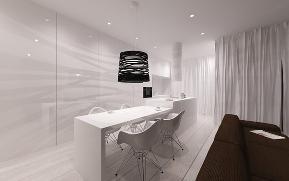 简约 二居 小资 餐厅图片来自别墅设计师杨洋在极简主义的灵感设计的分享