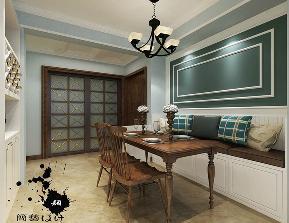 三居 白领 德贤公馆 装修效果图 美式风格 餐厅图片来自石家庄实创装饰公司在美式装修的壁炉用作玄关如此合拍的分享