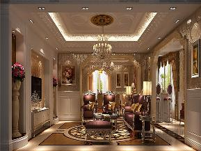 欧式 别墅 小资 80后 大户型 V7西园 客厅图片来自高度国际姚吉智在219㎡欧式别墅奢华独显豪气尊贵的分享