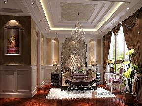 欧式 别墅 小资 80后 大户型 V7西园 卧室图片来自高度国际姚吉智在219㎡欧式别墅奢华独显豪气尊贵的分享