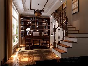 欧式 别墅 小资 80后 大户型 V7西园 书房图片来自高度国际姚吉智在219㎡欧式别墅奢华独显豪气尊贵的分享
